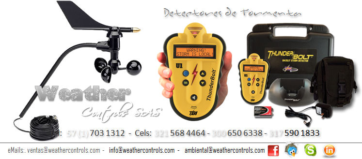 Weather Controls Detectores de Tormenta